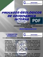 Procesos geológicos de geodinámica interna