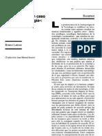 1994 - Latour - Etnografia de Un Caso de Alta Tecnologia - Sobre Aramis