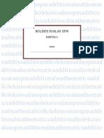 Koleksi Soalan Spm Add Maths Form 4 p1