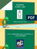 Sleeper game card