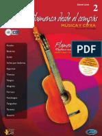 Método Guitarra Flamenca desde el compás-David Leiva