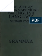 Art of Writing - Sherwin - Vol 5 Grammar