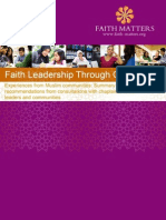 Faith Matters Chaplaincy Report