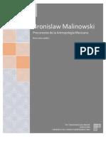 Bronislaw Malinowski, análisis