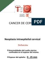Lesiones Pre Malignas y CA de Cervix Urp1