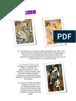 El cubismo fue un movimiento artístico desarrollado entre 1907 y 1914