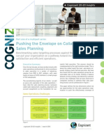 Pushing the Envelope on Collaborative Sales Planning