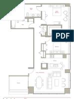 MoMo Joffrey Tower Floor Plan 3105
