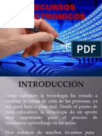 Recursos electrónicos Presentacion