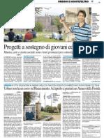 Urbino non ha un corso sul Rinascimento. Ad aprirlo ci penserà un'università della Florida / Progetti a sostegno di giovani e universitari - Il Resto del Carlino del 6 agosto 2013