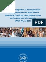 Intégrer la migration, le développement et les rapatriements de fonds dans la quatrième Conférence des Nations Unies sur les pays les moins avancés (PMA-IV), en 2011 (OIM)
