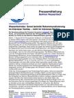 Pressemitteilung vom Berliner Wassertisch vom 7. August 2013