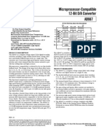 AD667 Microprocessor Compatible 12-Bit D-A Converter AD667