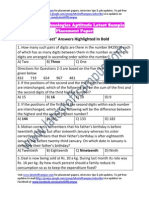 Tavant Technologies Sample Aptitude Placement Paper