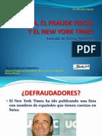 La Banca, El Fraude Fiscal y El
