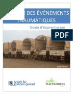 COUVRIR DES ÉVÉNEMENTS TRAUMATIQUES - Guide d'Apprentissage (Radio for Peacebuiding Africa, SFCG – 2011)