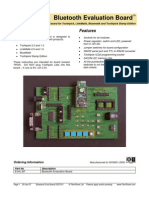 Bluetooth Eval Board DS378
