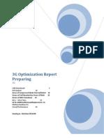 3G Report Preparing