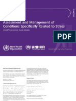 Assessment and Management of 