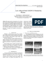 Microstructure of Low Alloyed Steel 32CDV13 Nitrided by Plasma