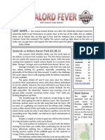 Sealord Fever 2013 Issue Sixteen