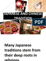 Japanese and Chinese Tradition