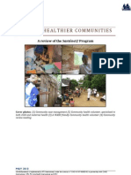BUILDING HEALTHIER COMMUNITIES, A review of the Santénet2 Program (Santénet2 – 2013)