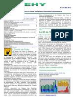 FEHY numéro 31 - Le bulletin d'information de l'Association du Réseau des Systèmes d'Information Environnementale