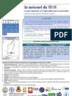 Bulletin mensuel du SISAV - période couverte