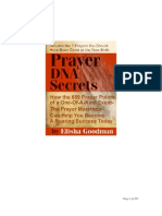 Prayer DNA Secrets