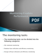 Monitoring Exadata Performance