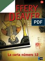 Deaver Jeffery.  La carta nº 12