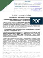 Guide Et Conseils Pratiques Version 2