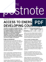 Access to Rural Energy