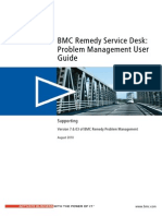 Problem Management User Guide