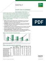 Ksa Cement Monthly Review - May 2013