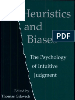 Daniel Kahneman - Heuristics and Biases, the psychology of intuitive judgment.pdf