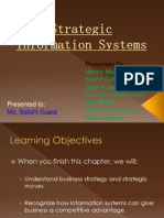 Strategic Information Systems ( Final )