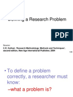 Defining Research Problem.ppt