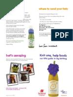 Big Knit 2013 Booklet