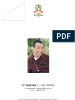 Bouddhisme - Chépadorjé Rinpoché - Conférence - Karma et reves