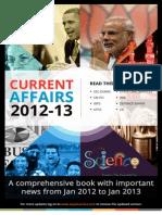 Current Affairs 2012-13