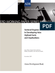 Sectoral Engines of Growth in Developing Asia
