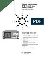 Agilent 8712E Network Analyser