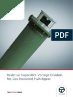 GIS RC Voltage Divider