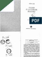 Dzon Lok -Ogledi o Ljudskom Razumu I Knjiga