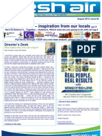 Step into Life Keysborough August 2013 Newsletter!