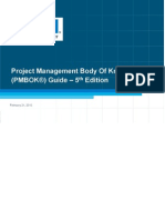 Pmbok5th Ed