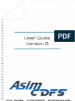 Asim CDFS Version 3 Users Guide