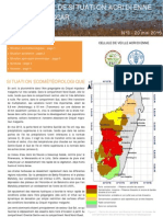 BULLETIN DE SITUATION ACRIDIENNE MADAGASCAR (FAO – MinAgri)